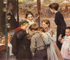 Henry Jules Jean Geoffroy - Les poissons rouges