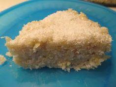 Együnk finomakat az egészségünkre: Kókuszos kölestorta (tejmentes, tojásmentes, gluténmentes, fehér cukor mentes)