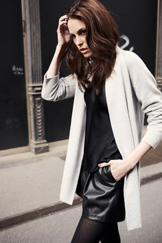Tracey, 100% cashmere cardigan, made in Italy, BARBARA LOHMANN AW14