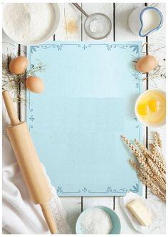 Food Background Wallpapers, Food Backgrounds, Baking Wallpaper, Food Wallpaper, Food Menu Design, Food Poster Design, Restaurant Logo Design, Menu Restaurant, Baking Logo
