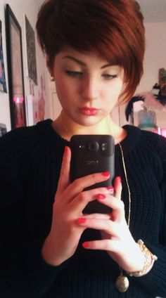 I pretty much already have this cut just need to grow it out a bit more not sure if I want this cut or to go shorter.