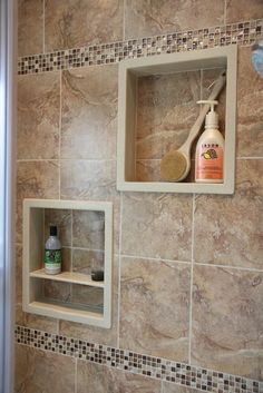 SHOWER NICHES More