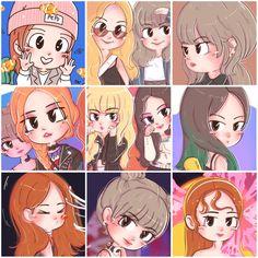 Background Images Wallpapers, Cute Cartoon Wallpapers, Kpop Drawings, Cute Drawings, K Pop, Doremon Cartoon, Night Sky Wallpaper, Korean Anime, Black Pink Kpop