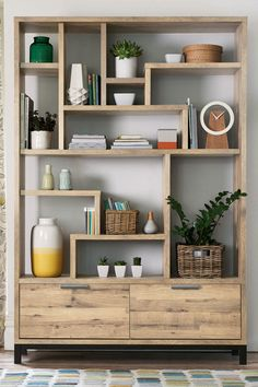 Buy Bronx Display Shelf from the Next UK online shop Next Bronx Tall Display Shelf – Natural Bookshelf Design, Bookcase Shelves, Corner Shelves, Display Shelves, Alcove Bookshelves, Room Divider Shelves, Tall Shelves, Creative Bookshelves, Plywood Shelves