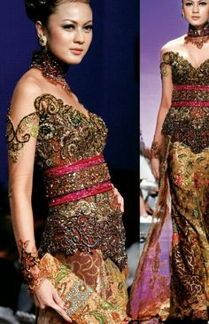 Beautiful kebaya from Anne Avantie