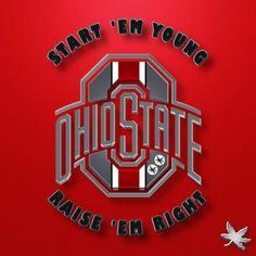 Ohio State Michigan, Ohio State Baby, Ohio State University, Buckeyes Football, Ohio State Football, Ohio State Buckeyes, Ohio State Wallpaper, Newark Ohio, Cleveland Browns