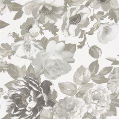 roseus - linen wallpaper | Designers Guild