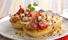 Batata Grelhada com Bacon
