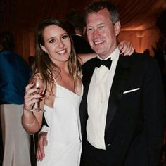 Lord Ivar Mountbatten and his eldest daughter Ella Louise Georgina, July 2014