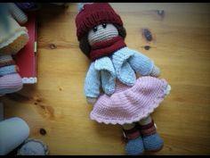 Doll crochet # how to sew doll crochet - YouTube