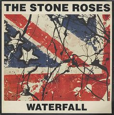 Stone Roses Waterfall album cover art by John Squire Lp Cover, Cover Art, The Stone Roses Album, Stone Roses Waterfall, Version Francaise, Music Artwork, Britpop, Band Posters, My Escape