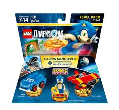 Patrick - Sonic the Hedgehog Level Pack - LEGO Dimensions: Video Games