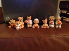 Homco Home Interior Halloween Bears eBay Home Interior bears