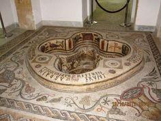 Roman Bath Pool With Mosaic - Museum of the Bardo Museum, Tunis (TUNISIA)