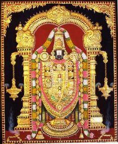lord balaji tanjore paintings-balaji-24-30-inch.jpg