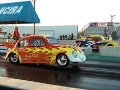 Drag VW Kodok Beetle