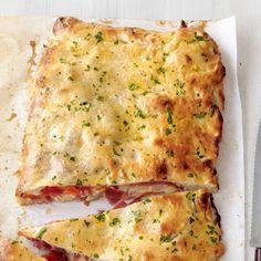 Salami-Mozzarella Calzone