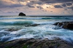 Trebarwith Strand, Cornwall. My favorite place in all the world.