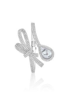 Chanel - WATCH IN 18K WHITE GOLD, ROCK CRYSTAL AND DIAMONDS
