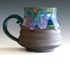 Large Coffee Mug 16 oz handmade ceramic cup tea cup by ocpottery, $25.00