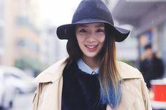 koreanmodel: Streetstyle: Irene Kim