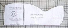 I think these Fish Laundry Baskets are a success! Bag Patterns To Sew, Sewing Patterns Free, Free Sewing, Sewing Tutorials, Sewing Projects, Sewing Ideas, Laundry Bags, Laundry Baskets, Pinking Shears