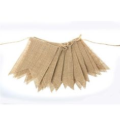 30 Pcs DIY Burlap Banner 29Ft Hand Painted Decoration for Wedding Birthday and Kids Party *** Check this awesome product by going to the link at the image.