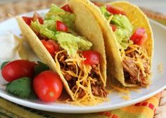 Make and share this Crock Pot Chicken Taco Meat recipe from Genius Kitchen.