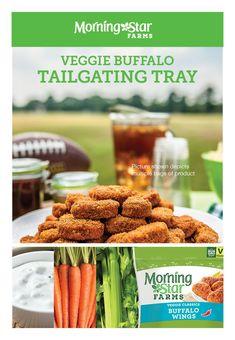 Veggie Buffalo Tailgating Tray
