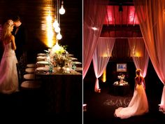 who knew a barn could be so elegant?  copyright Aaron Watson Photography