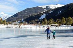 Ice Skating Rinks near me: Keystone Lake, Keystone Resort