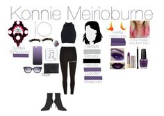 """Konnie Meiroburne"" by emmasart ❤ liked on Polyvore featuring River Island, Nine West, Monday, Urban Decay, OPI, Loeffler Randall, Happy Plugs and GUESS"