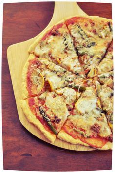 Roasted Veggies on Pizza ~ (never home)maker