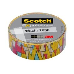 Product Catalog: Scotch® Expressions Washi Tape