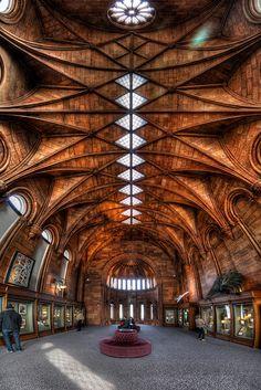 Washington, D.C. Smithsonian Institution Building // HDR Vertorama by Brandon Kopp via Flickr