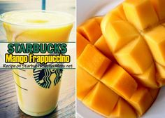 This basic Mango Frappuccino is sweet, simple and oh so delicious. One of our favorites! Learn how to order one here!