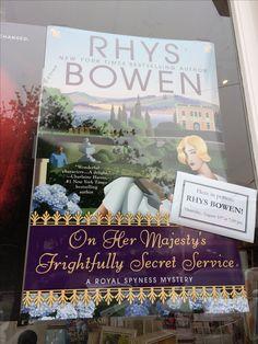 #SFEvents #AuthorAppearance #RhysBowen #BookshopWestPortal