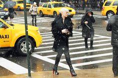 Kate Lanphear // #StreetStyle // #NYFW