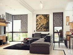 24x36 Poster Print Johnny Cash Finger Innerwallz http://www.amazon ...