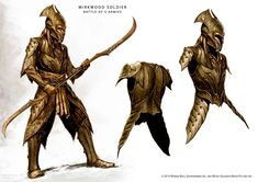 mirkwood soldier concept from the Hobbit
