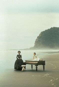 The Piano. Decent movie but I really love the scenes of the piano on the beach. Romantic Films, Most Romantic, Love Movie, I Movie, Das Piano, Piano Music, Sheet Music, Trailer Peliculas, Bon Film