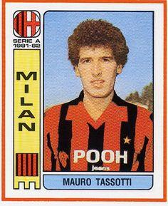 Mauro Tassotti (AC Milan, 1980–1997, 429 apps, 8 goals), 1981.