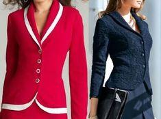 Patrón de chaqueta clásica atemporal muy fácil de hacer. Tallas desde la 36 hasta 56. Talla 36: Talla 38: Talla 40: Talla 42: Talla 44: Talla 46: Talla 48: Talla 50: Talla 52: Talla 54: Talla 56: Fuente:http://www.marlenemukai.com.br/ DIY Chaqueta estilo chanelPatrón chaqueta Spencer de ArmaniPatrón de chaqueta clásicaPatrón de poncho para el inviernoPatrón Chaqueta …