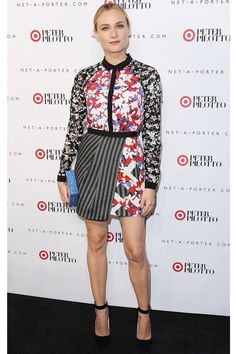 Peter Pilotto for Target Floral-Print Cotton-Blend Jersey Mini Dress, 39.99, available at Net-A-Porter.