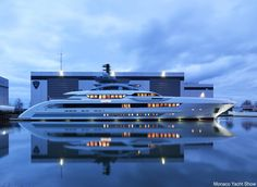 But $1 million per meter is just a starting point. Here you see the Galactica Super Nova yacht by luxury yacht manufacturer Heesen. The 70-meter (230-foot) ship will cost roughly $13 million per meter (3 feet).