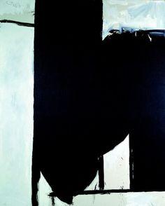 ROBERT MOTHERWELL, The Spanish Death, 1975. Oil on canvas. /...