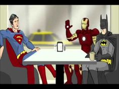 Super Café: how it should have ended.... LOVE! So much super hero awesomeness!