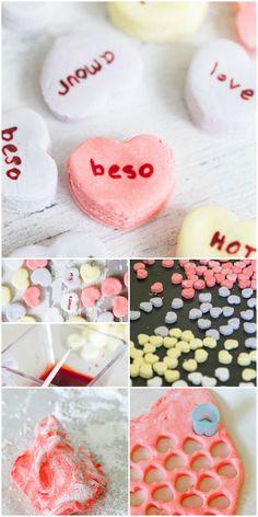 #DIY Conversation Hearts #valentinesday