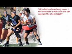 Women's Lacrosse Defensive Blocking