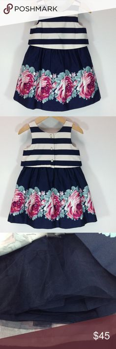 Janie & Jack Dress w/Bloomers Sleeveless dress w/bloomers and tulle underneath for fullness. Janie and Jack Dresses
